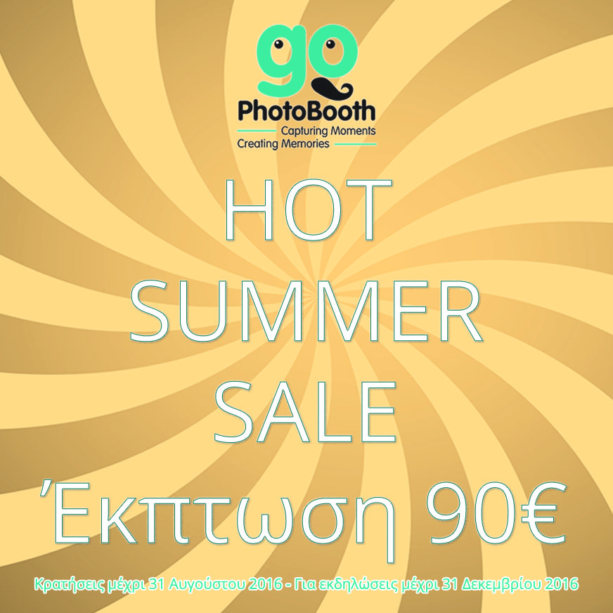 Hot Summer PhotoBooth Sale